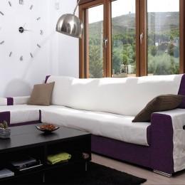 Canapé chaise longue couverture Atlas XL