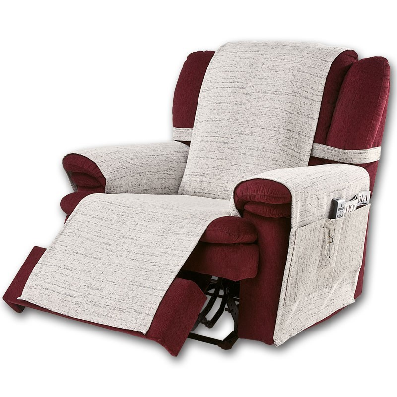 Prot ge fauteuil relax paula - Protege canape d angle ...